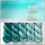 Sea Glass Hues 'PEARLESCENT' FINGERING KIT