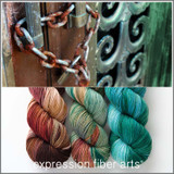 Pre-Order Copper Patina Hues 'RESILIENT' SOCK