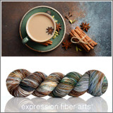 Pre-Order Holiday Chai 'RESILIENT' SOCK + Teaspoon + Teabag