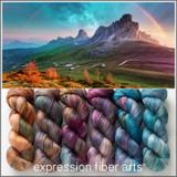 PRE-ORDER Adventurous Hues 'PEARLESCENT' FINGERING KIT
