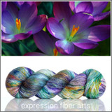 Pre-Order Crocus Bloom 'PEARLESCENT' FINGERING