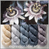 Pre-Order Passionflower Hues 'LUSTER' WORSTED KIT