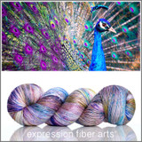 PRE-ORDER Peacock Elegance 'PEARLESCENT' FINGERING