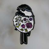Floral Birdie Pin