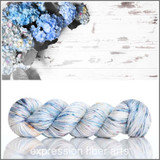 Blue Hydrangeas 'LUSTER' WORSTED