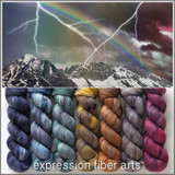 Pre-Order Stormy Rainbow Hues 'SINCERE' SOCK