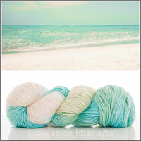 WHITE SAND BEACH 'PEARLESCENT' WORSTED