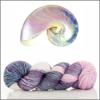 PEARL NAUTILUS 'PEARLESCENT' WORSTED