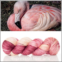 FLAMINGO 'PEARLESCENT' WORSTED