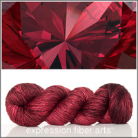 JANUARY GARNET 'PEARLESCENT' WORSTED