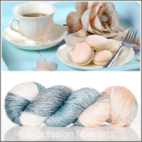 TEA PARTY 'PEARLESCENT' WORSTED