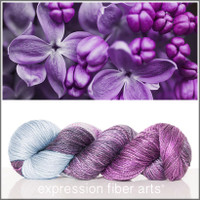 A PASSION FOR PURPLE 'LUSTER'  WORSTED