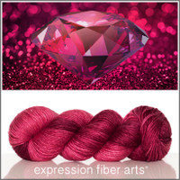 JULY RUBY 'PEARLESCENT' WORSTED