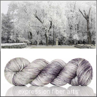 SNOWFALL 'PEARLESCENT' WORSTED
