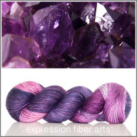 FEBRUARY AMETHYST 'PEARLESCENT' WORSTED