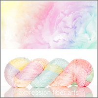 JANUARY CARNATION 'PEARLESCENT' WORSTED