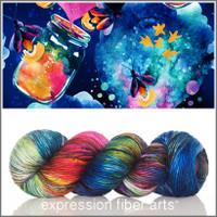 FIREFLY 'PEARLESCENT' WORSTED