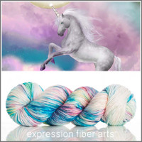 UNICORN SPRINKLES 'PEARLESCENT 'WORSTED