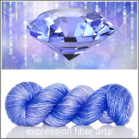 DECEMBER TANZANITE 'PEARLESCENT' WORSTED