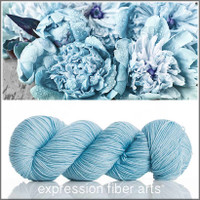 BLUE PEONIES 'RESILIENT' SOCK