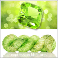 AUGUST PERIDOT 'PEARLESCENT' WORSTED