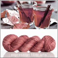 MULLED APPLE CIDER 'PEARLESCENT' WORSTED