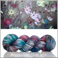 OCTOBER COSMOS 'PEARLESCENT' WORSTED