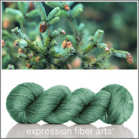 ALL SEASONS GREEN 'PEARLESCENT' FINGERING