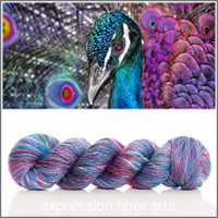 COSMIC PEACOCK 'LUSTER'  WORSTED