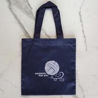 Navy Project Bag - Expression Fiber Arts