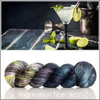 LIME MARGARITA Limited Edition 'PEARLESCENT' FINGERING 100g
