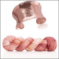 ROSE GOLD 'BUTTERY' BULKY