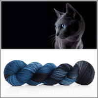 RUSSIAN BLUE 'BUTTERY' BULKY