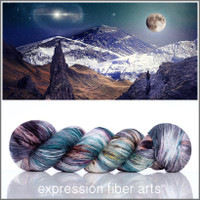 SNOW MOON 'PEARLESCENT' FINGERING 100g