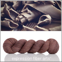 BELGIAN CHOCOLATE SHAVINGS 'Glimmer' Fingering