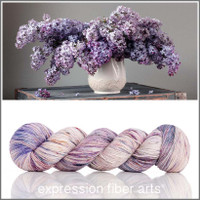 LILAC BOUQUET Glimmer Fingering
