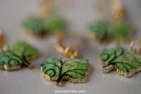 Swirly Tree Stitch Markers Set of 5