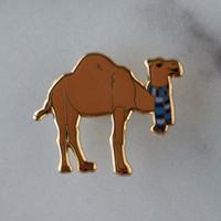 Clyde the Camel Enamel Pin