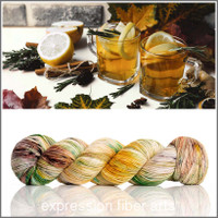 Pre-Order Sunny Ginger 'RESILIENT' SOCK + Teaspoon and Tea