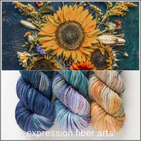 Pre-Order Sunflower Mood Mid-Month Club October 2020 (Skeins only)