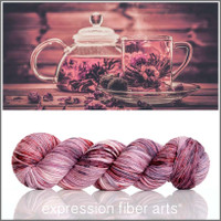 Raspberry Passion Tea 'ENDURING' WORSTED