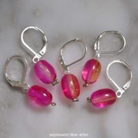 Dahlia Pink Stitch Markers Set of 5
