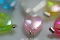 Fairy Hearts Stitch Markers Set of 5