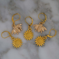 In the Garden Stitch Markers Set of 5