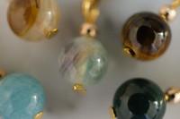 Balance Gemstone Stitch Markers Set of 5