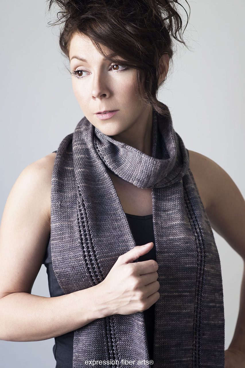 6a7fd0250 Mind the Gap Tube Scarf Free Knitted Pattern