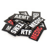2x4 Med ID Patch - Black