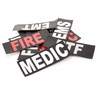 Med ID Patch - Black