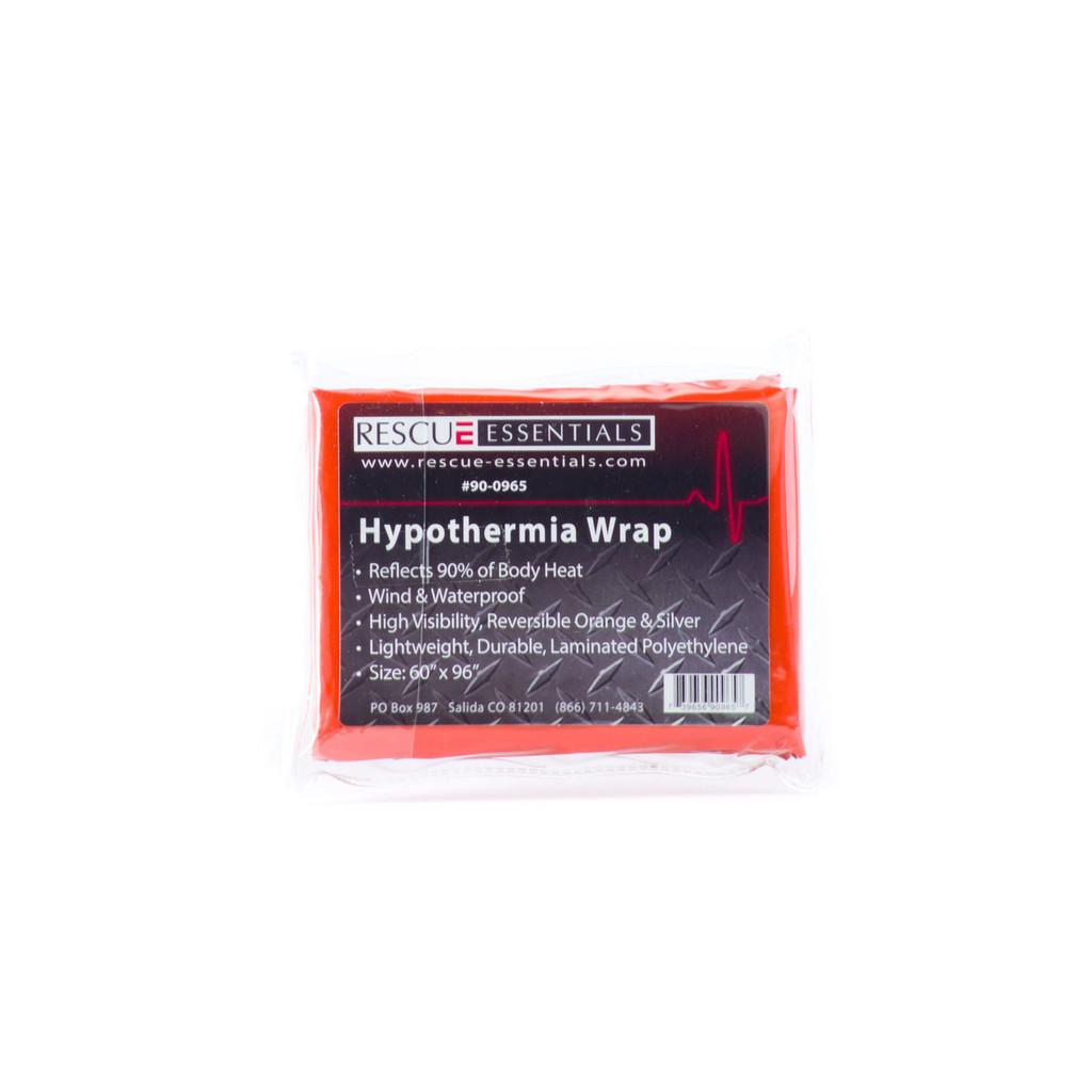"""Hypothermia Wrap 60"""" x 96"""" - Orange"""