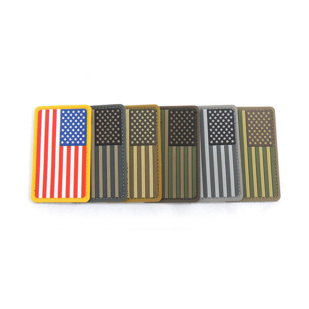 PVC US Flag Patch
